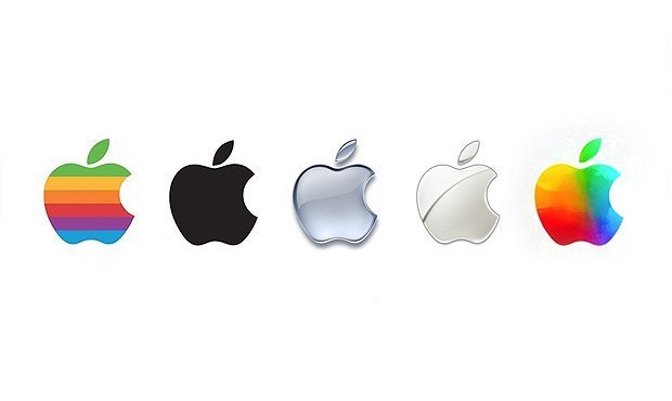 The Evolution and History of the Apple Logo  Edible Apple